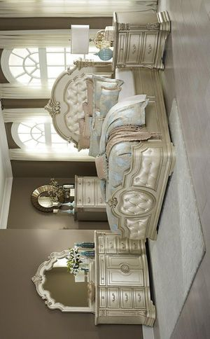 ☄Shock price☄[SPECIAL] Antoinetta Champagne Panel Bedroom Set for Sale in Jessup, MD