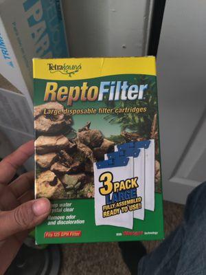 Reptofilter turtle tank aquarium water filter for Sale in Arlington, TX