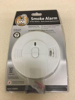 Smoke alarm 10 years warranty for Sale in Carmichael, CA