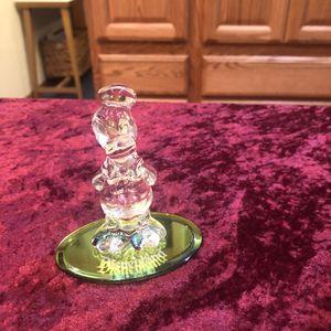 Walt Disney Donald Duck Clear Glass Figurine for Sale in Lakewood, CA