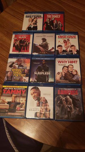 Blu ray movies for Sale in Bristol, RI