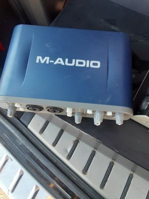 M audio fast track pro for Sale in Irwindale, CA