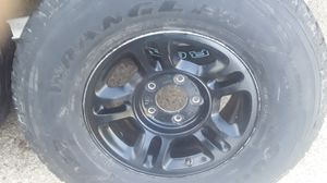 Ford truck wheels and large tires for Sale in Fort Worth, TX