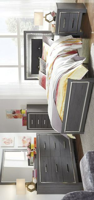 🧿SAMEDAY DELIVERY 🧿SPECIAL] Lodanna Gray Youth LED Panel Bedroom Set for Sale in Columbia, MD
