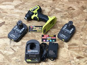 RYOBI ONE+ HP 18V Brushless Cordless Compact 1/4 in. Impact Driver Kit with (2) 1.5 Ah Batteries, Charger and Bag New Open Box for Sale in Riverside, CA