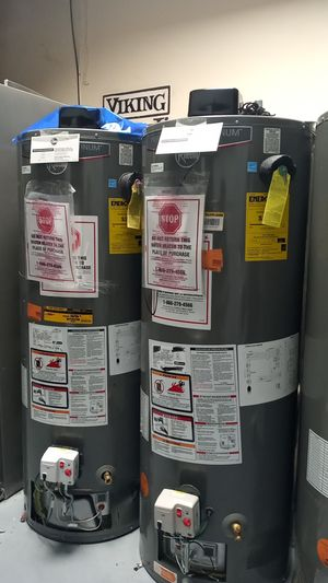 Rheem Performance Platinum Water Heater 40 and 50 gal for Sale in Glendale, CA