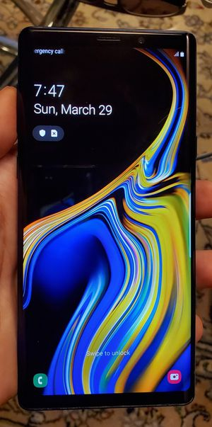 Samsung Galaxy Note 9 128GB Blue Unlocked DESBLOQUEADO Liverado T-Mobile Att Metro Cricket for Sale in Los Angeles, CA