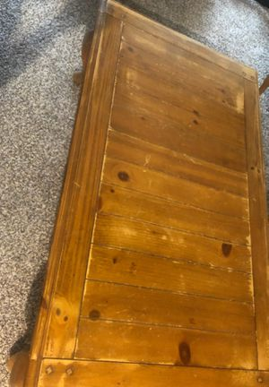 Wood coffee table for Sale in Georgetown, TX