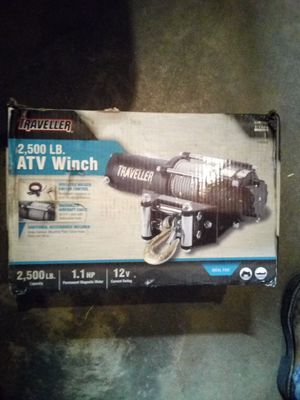 Traveller 2500 Atv Winch for Sale in Valley Home, CA