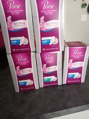 Poise pads for Sale in Fresno, CA
