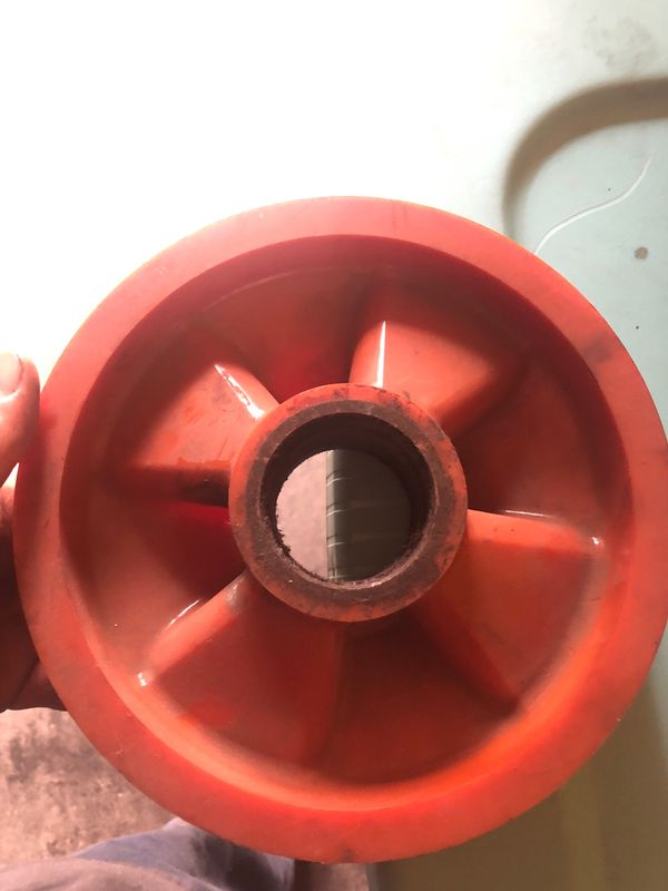 Pallet jack wheels brand new just dirty