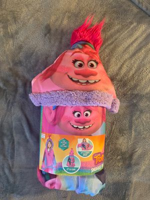 Trolls snuggle wrap for Sale in Hackensack, NJ