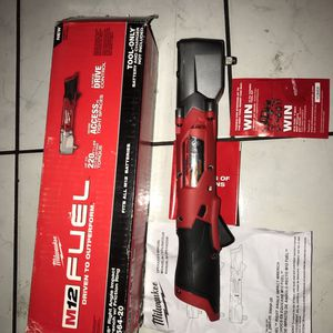 "Milwaukee M12 Fuel 3/8"" Right Angle Impact Wrench . Bare Tool .solo Herramienta !!.$165 Price Firm for Sale in Garden Grove, CA"