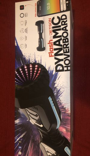FLASH BY JETSON DYNAMIC HOVERBOARD for Sale in Tacoma, WA