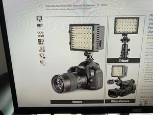 NEEWER 160 LED Dimmable On Camera Video Light for Sale in Highland Beach, FL