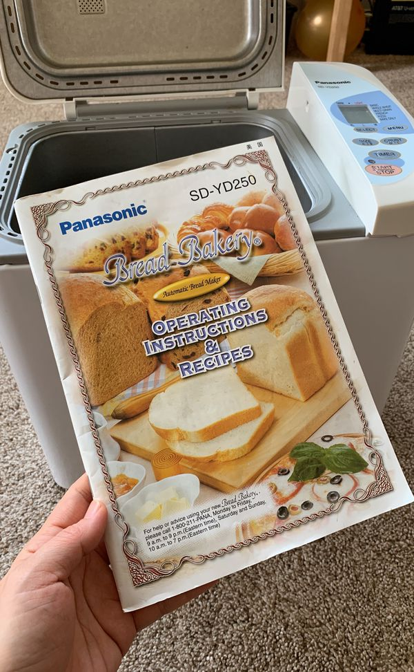 Panasonic SD-YD250 bread maker