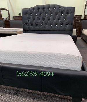 ♠️Brand new Tufted Calking bed with Orthopedic Supreme Mattress. for Sale in Denair, CA