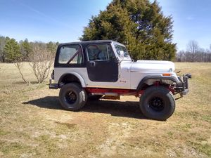 86 CJ7. 350 CHEVY HARDTOP for Sale in West Fork, AR
