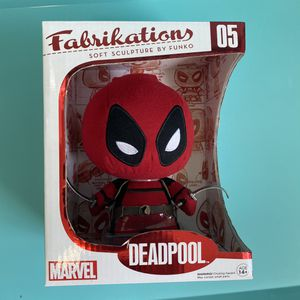 Marvel Funko Soft Sculpture Fabrikations Deadpool Plush #05 Red for Sale in Miami, FL