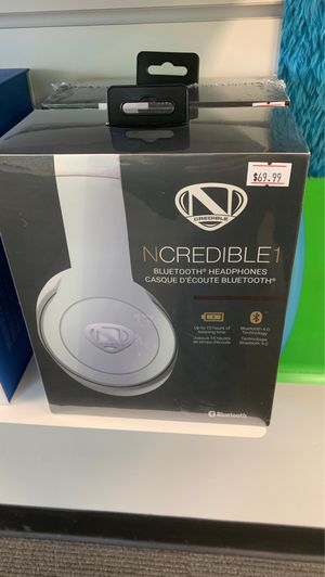 Ncredible Bluetooth Headphones for Sale in Duquesne, PA