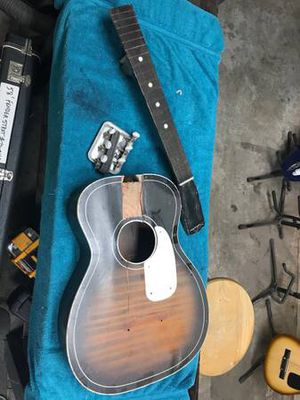 Vintage Silvertone luthier project for Sale in Seattle, WA