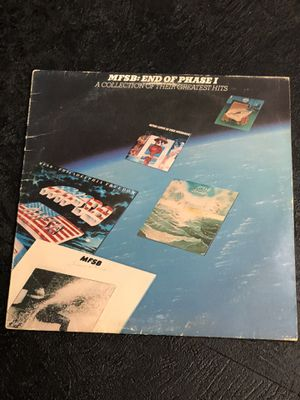MFSB – End Of Phase I Collection Of Greatest Hits LP Vinyl for Sale in Apple Valley, CA