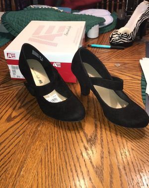 Sz 5 1/5 Black Cloth Character Dance Shoes - NIB for Sale in Rossville, GA