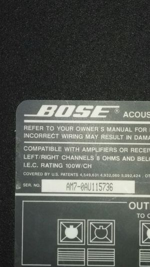 Bose acoustic subwoofer for Sale in St. Louis, MO