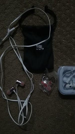 Jbl super bass headphones and avid standard headphones for Sale in Oceanside, CA