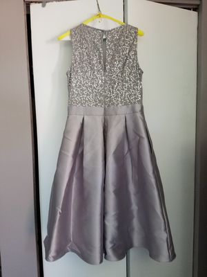 Silver/Gray sequin formal, dress for Sale in New Castle, DE