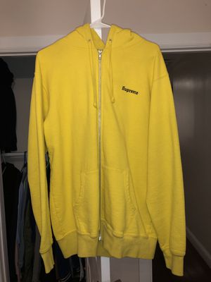 Yellow Supreme 666 Zip Up Hoodie for Sale in Queens, NY