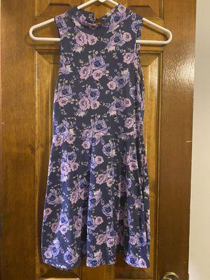 Forever 21 Purple flower dress for Sale in Shawnee, KS
