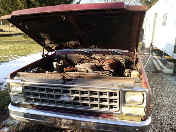 1980 Chevy Suburban with 454 engine