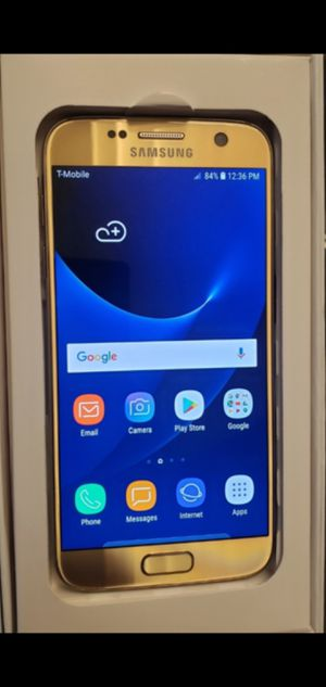 New Gold Samsung Galaxy S7 32GB T-MoBile Metro Simpl and Mint Mobile only for Sale in Los Angeles, CA