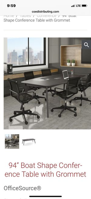 Office furniture/ conference room table for Sale in Atlanta, GA