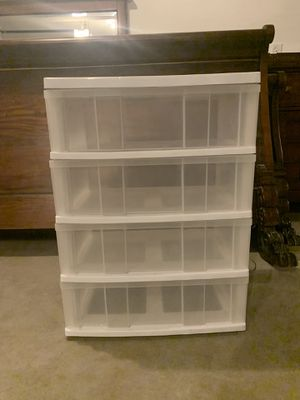 Storage bins- plastic for Sale in Wheat Ridge, CO