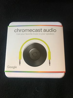 Brand New Chromecast Audio by Google for Sale in Lynnwood, WA