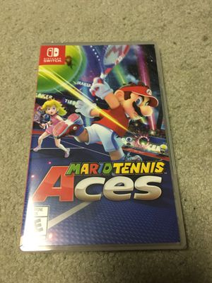 Brand New/ Sealed- Mario Tennis Aces Nintendo Switch for Sale in Huntington Beach, CA
