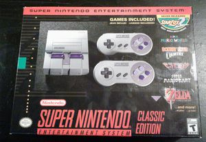 NEW Super Nintendo NES Mini Classic Edition for Sale in Columbus, OH