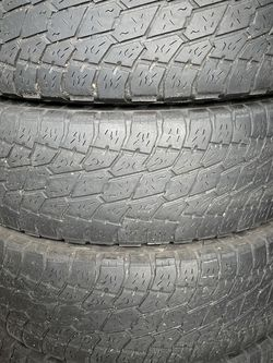 FREE. Used All-Terrain Tires - P265/70R17. for Sale in Vancouver,  WA