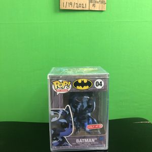 Funko Pop! Heroes DC Dark Blue Batman Artist Series #04 for Sale in Fresno, CA
