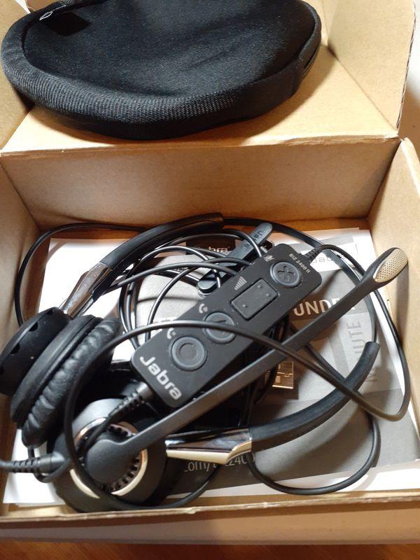 Jabra hands free headset usb plug