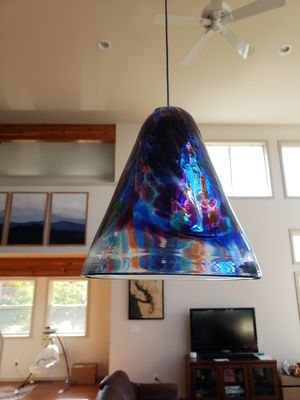 Glass shade pendants (handblown) for Sale in Mukilteo, WA