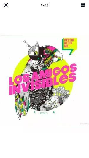 "35 pack LOS AMIGOS INVISIBLES ""REPEAT AFTER ME... CD 2013 12 Songs Nacional Records for Sale in Escondido, CA"