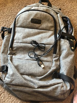 Backpack with external USB port, headphone jack for Sale in Chandler, AZ