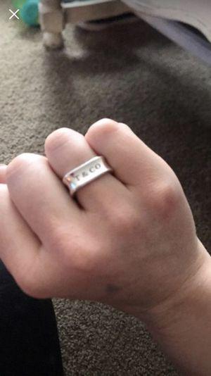 Tiffany Sterling silver ring for Sale in Carmel, IN