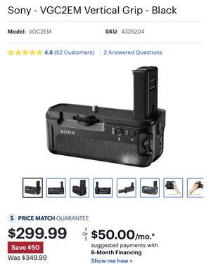 Sony VGC2EM Battery Grip for Sale in Manassas, VA