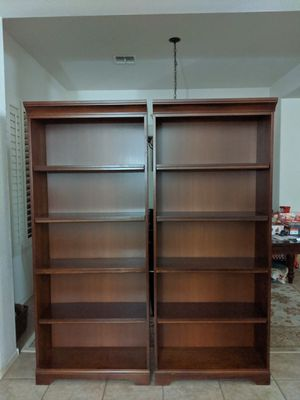 2 Wooden Bookshelves (Price for both) for Sale in Chandler, AZ
