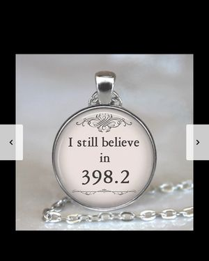 i still believe in ... pendant for Sale in San Jose, CA
