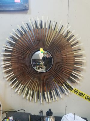 Sunburst mirror wall piece for Sale in Atlanta, GA